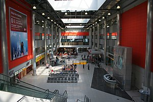 Sheremetyevo Airport of Moscow. Terminal C. Vi...