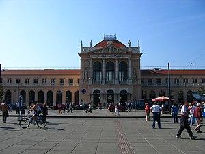 Main Station (Glavni kolodvor), Zagreb, Croatia