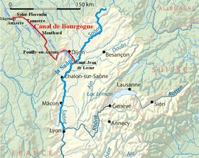 Canal De Bourgogne Wikipdia