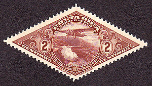 English: Postage stamp, Coasta Rica, 1937, 2c,...