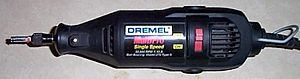 A single-speed 'MultiPro' Dremel