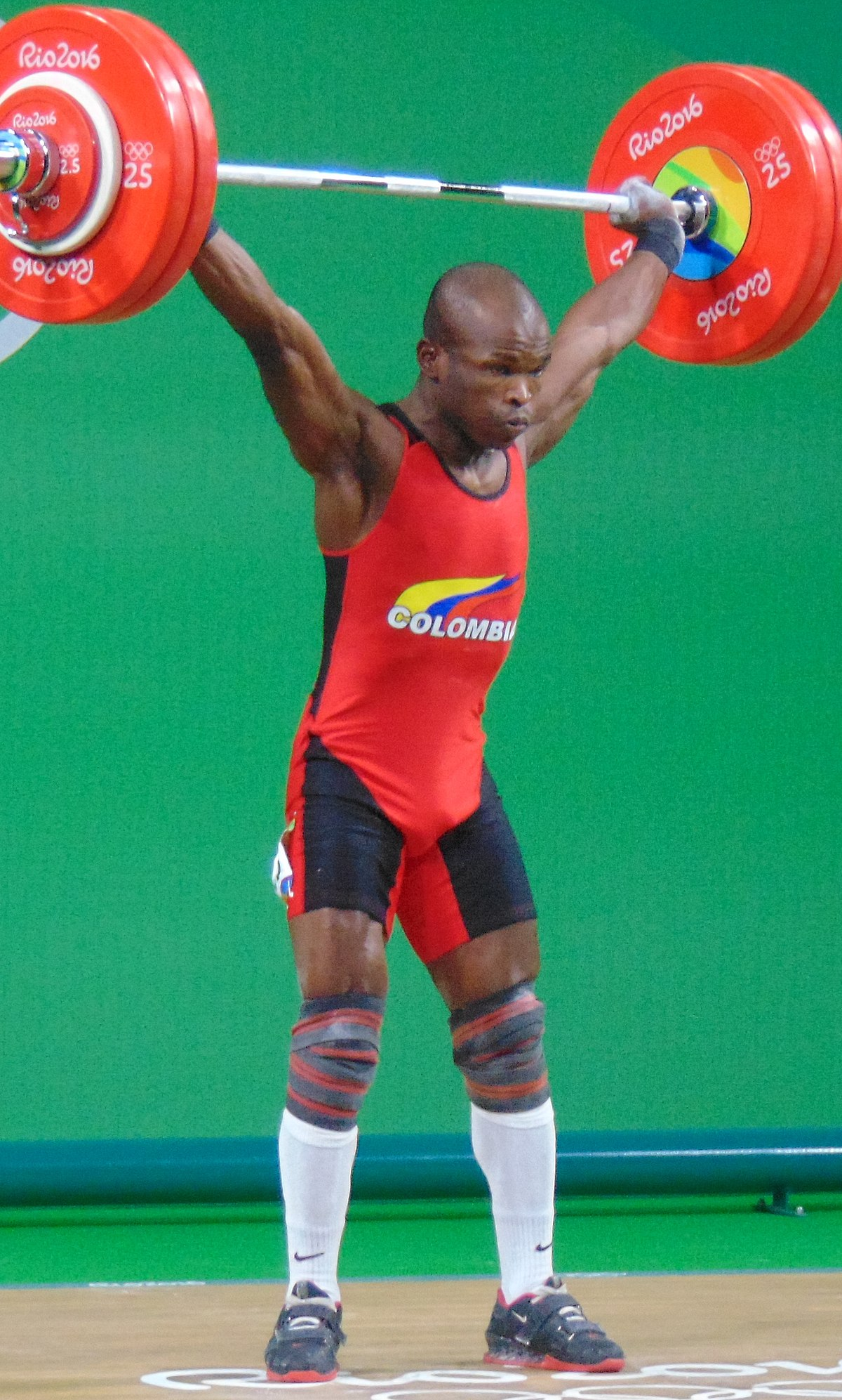 Image result for Edwin Mosquera Roa: Olympic weightlifter shot dead in Colombia