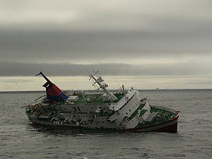 Untergang der MS Explorer und Rettungsaktion d...