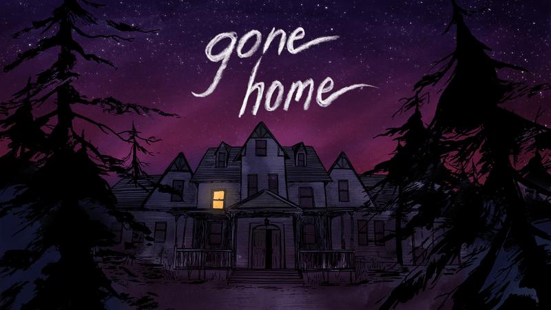 Gone Home logo