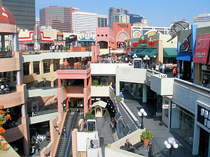 English: Westfield Horton Plaza in downtown Sa...