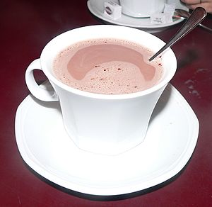 Hot chocolate, Café Zéphyr, Paris