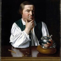 """Portrait of Paul Revere"" by John Singleton Copley"