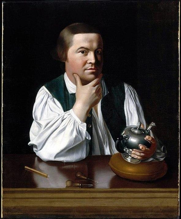 """""""Portrait of Paul Revere"""" by John Singleton Copley"""