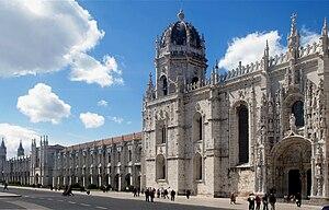 English: The Monastery of Jerónimos, Lisbon, P...