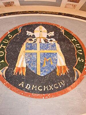 Español: escudo de armas del papa Juan Pablo II