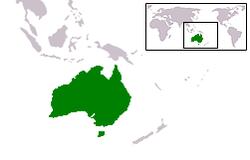 Lokasi Australia