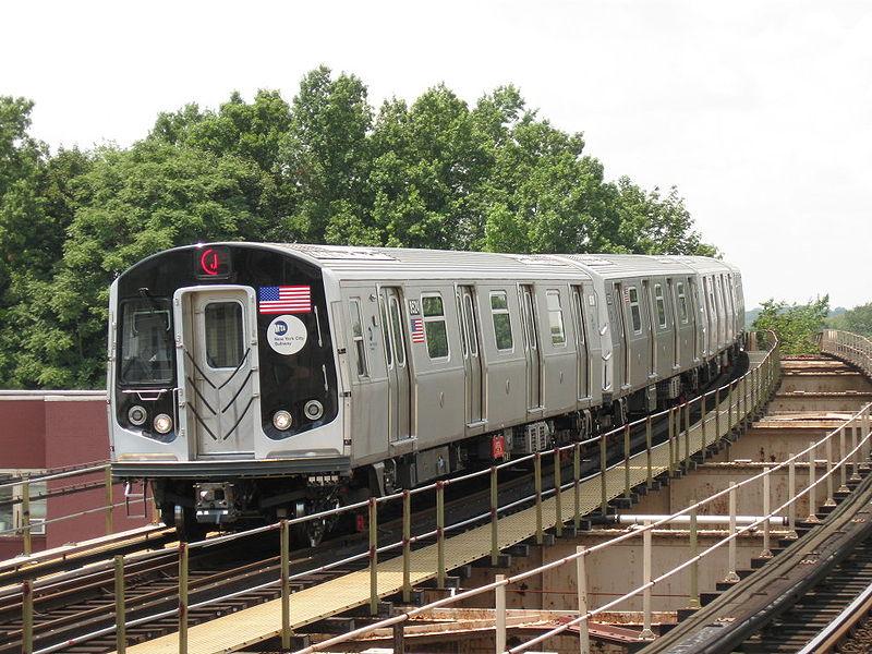 R160 NYC Subway car