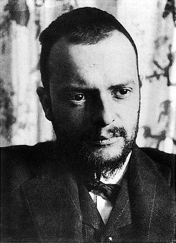Paul Klee, fotografiert 1911