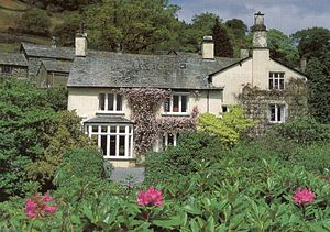 English: Rydal Mount, Gardens landscaped by Wi...