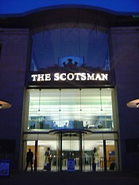 The Scotsman ' s offices in Edinburgh