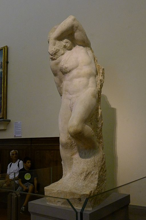 'Young Slave' by Michelangelo