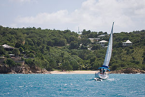 English: Sailing in Antigua Deutsch: Segeln au...