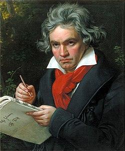 Joseph Karl Stieler কর্তৃক ১৮২০ সা্লে আঁকা বিটোফেনের প্রোর্ট্রেট