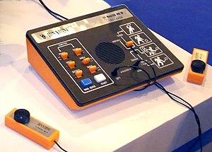 English: First generation console: Binatone TV...