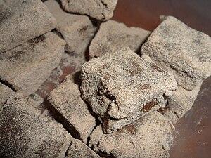 English: homemade chocolate truffles עברית: טר...
