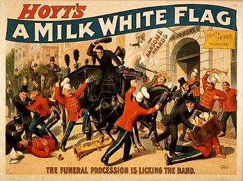 1894 poster advertising Charles Hale Hoyt's pl...
