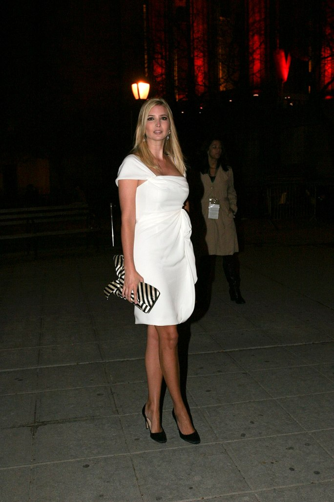 Ivanka Trump at Vanity Fair party