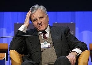 DAVOS/SWITZERLAND, 24JAN08 - Jean-Claude Trich...