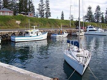 Kiama harbour