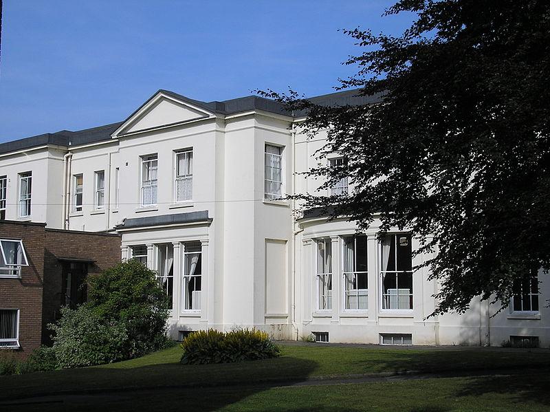 File:Loyola Hall, Rainhill - South west view.JPG