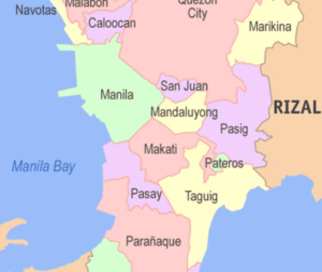 Primary Local Government Units Of Metro Manila 2012
