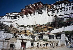 English: Potala Palace, Lhasa, Tibet