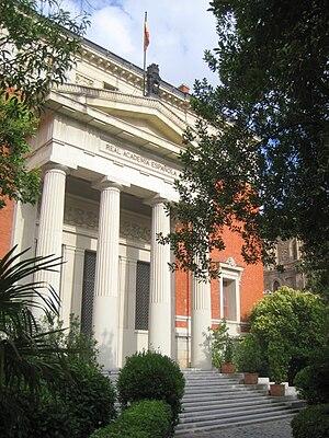 Real Academia Española building, Madrid, Spain.