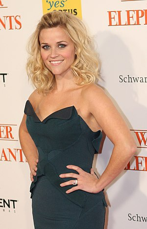 English: Reese Witherspoon at the premiere for...