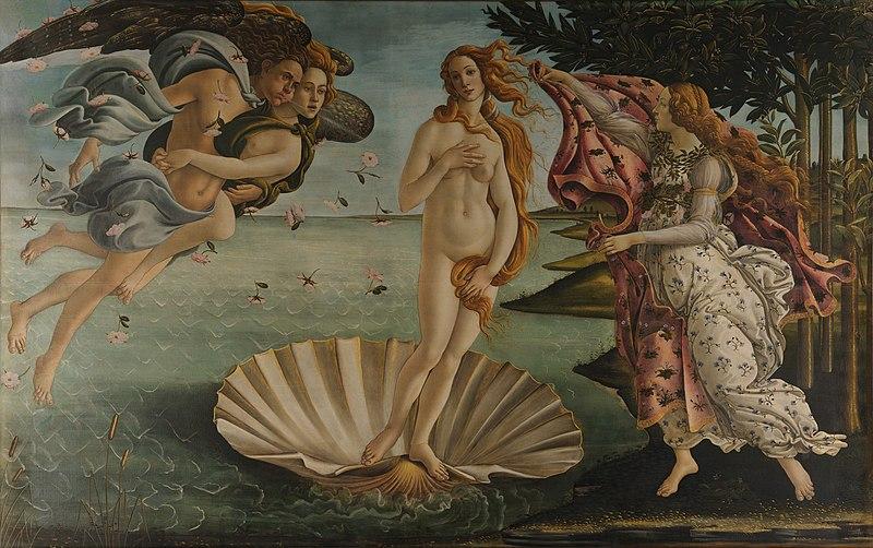 Sandro Botticelli - La nascita di Venere - Google Art Project.jpg