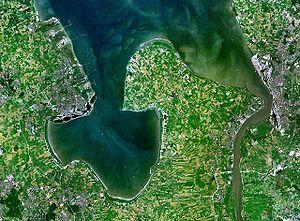 Jadebusen and river Weser estuary
