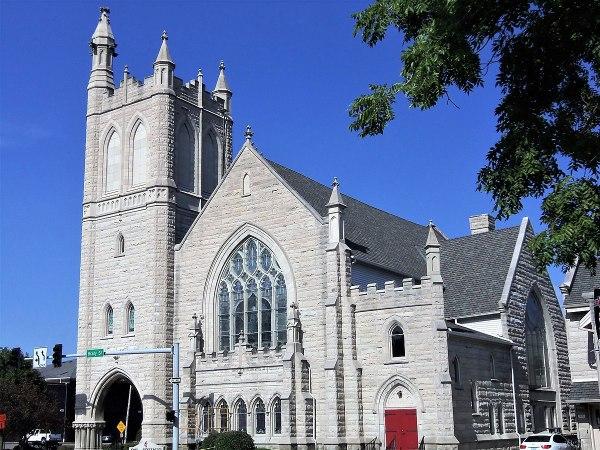 St. John's United Methodist Church (Davenport, Iowa ...