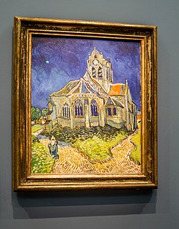 The Church at Auvers by Vincent van Gogh, 11 November 2016