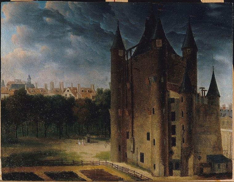 File:Tour du Temple circa 1795 Ecole Francaise 18th century.jpg