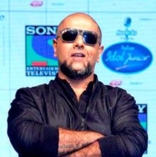 Vishal Dadlani Indian Idol Junior launch (cropped).jpg