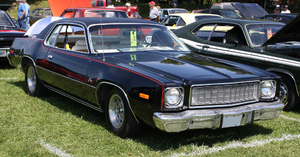 English: 1975 Plymouth Fury coupe B-body
