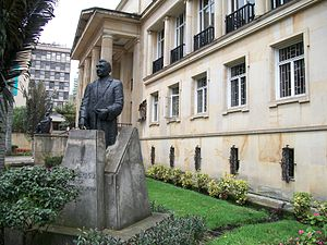 English: Academia Colombiana de la Lengua, cos...