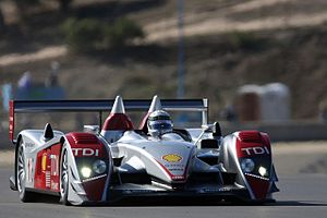 Allan McNish in the Audi R10 at the 2007 Monte...