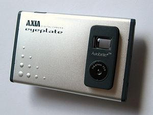 Axia eyeplate is a very thin (6 mm) digital ca...