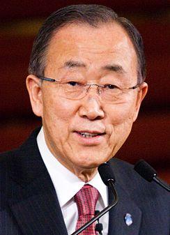 Ban Ki Moon   June