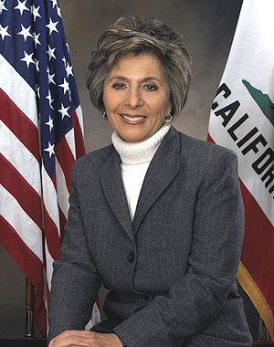 Barbara Boxer, member of the United States Senate