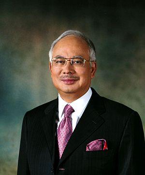 Malaysian Prime Minister, Najib Tun Razak