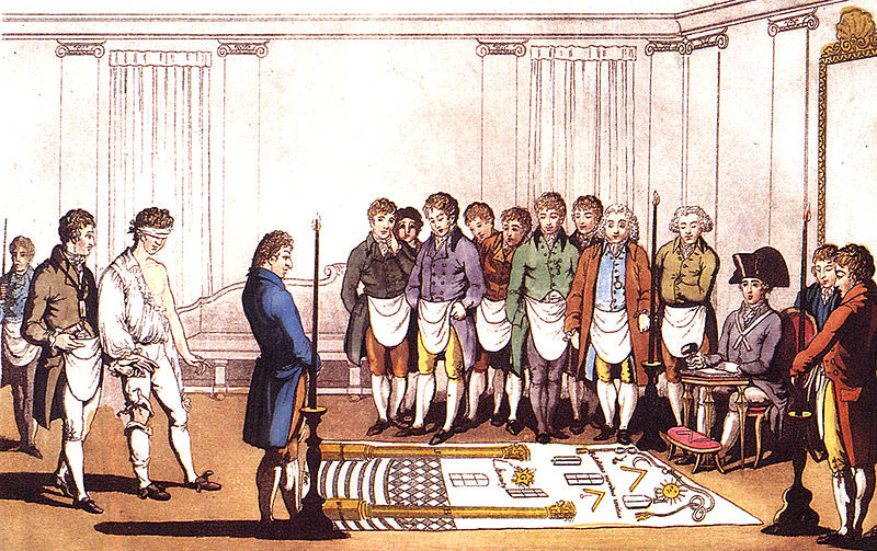 French masonic ritual