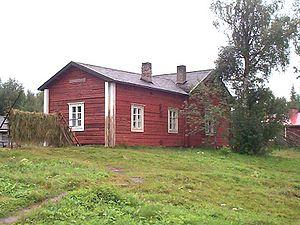Kallioniemi, childhood home of Kalle Päätalo. ...