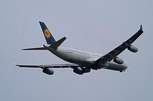 Lufthansa Airbus A340-313X (D-AIGO) started fr...