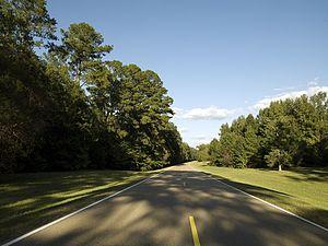 English: Natchez Trace Parkway, Mississippi ME...